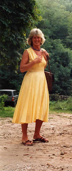 Liza yellow dress